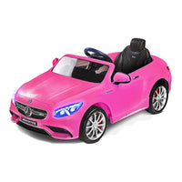 Mercedes Benz S63 AMG Kids Battery Operated Car with Remote