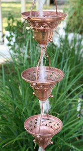 Copper Florence Cups