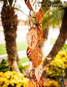 CASCADING LEAVES - RAIN CHAINS