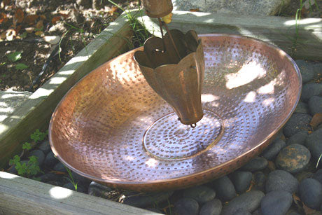 Hammered Copper Dish