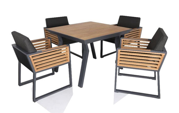 New York 4 Seat Dining Set - TALOR Garden Furniture