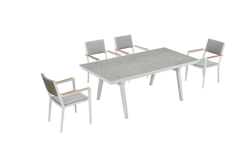 Champion 6 Seat Dining Set - TALOR Garden Furniture