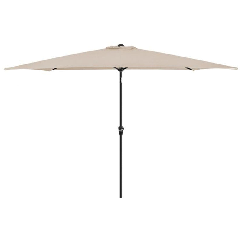 Antigua 3m x 2m Rectangular Aluminium Parasol - Crank & Tilt - TALOR Garden Furniture
