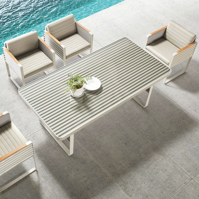 Airport 6 Seat Dining Set - TALOR Garden Furniture
