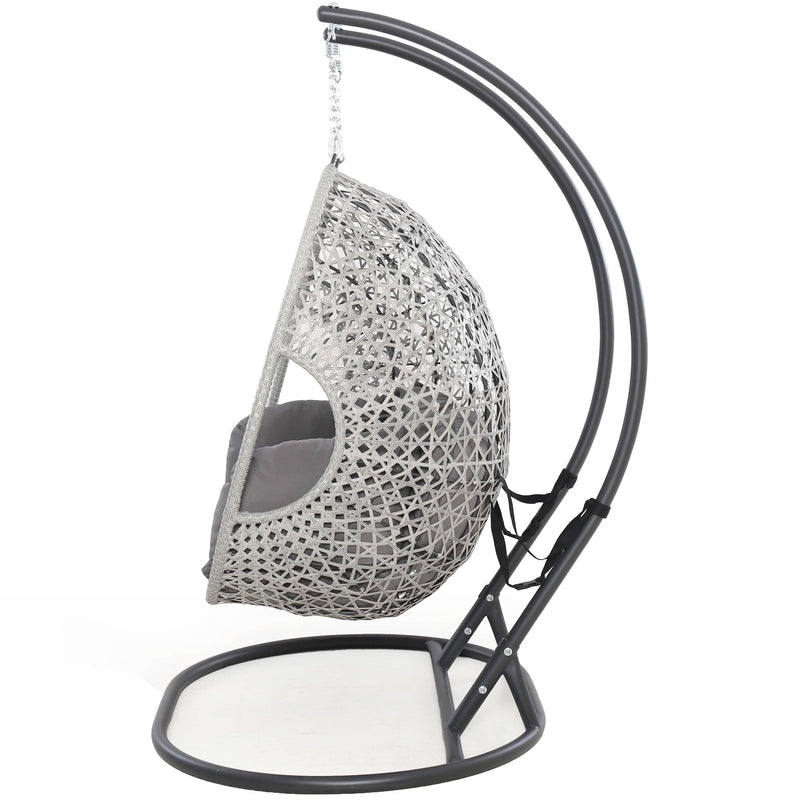 Pre-Order: Ascot Rattan Double Hanging Chair - TALOR Garden Furniture