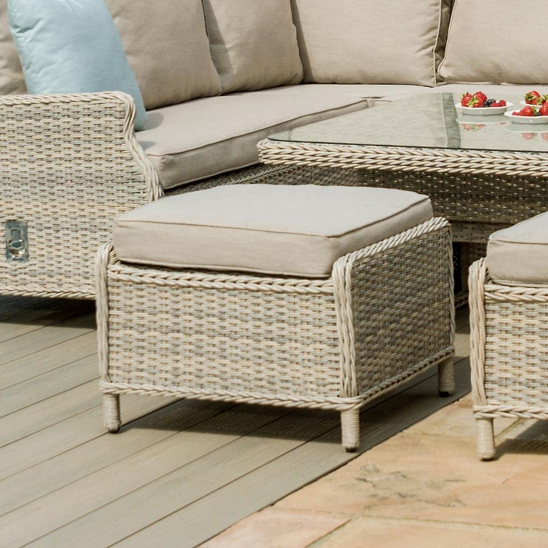 Pre-Order: Cotswold Reclining Corner Dining Set with Rising Table - TALOR Garden Furniture