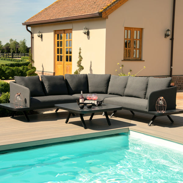 Pre-Order: Cove Corner Sofa Set - TALOR Garden Furniture