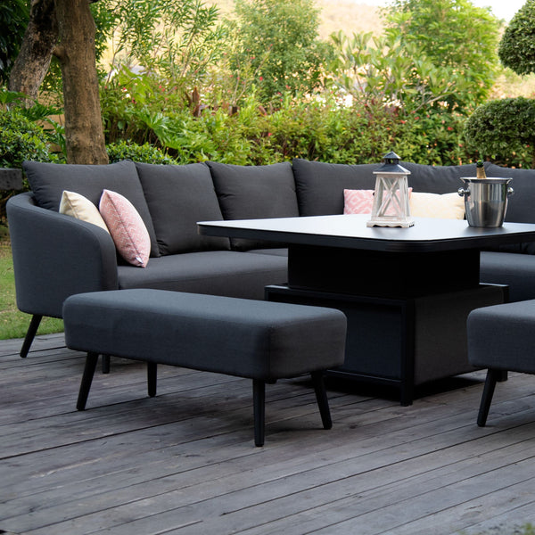Ambition Corner Group With Rising Table - TALOR Garden Furniture