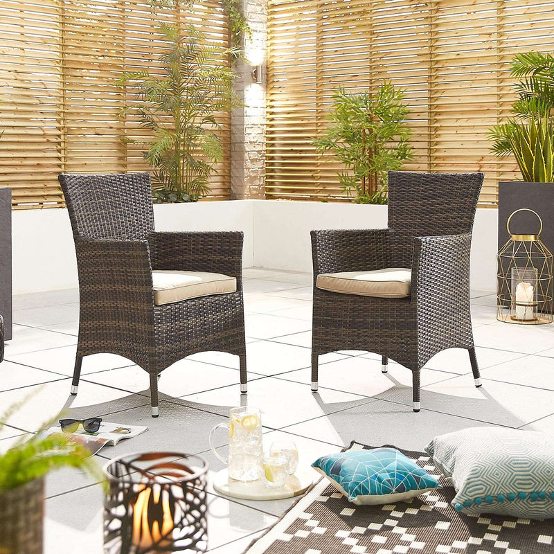 Amelia Dining Chairs - Pair - TALOR Garden Furniture