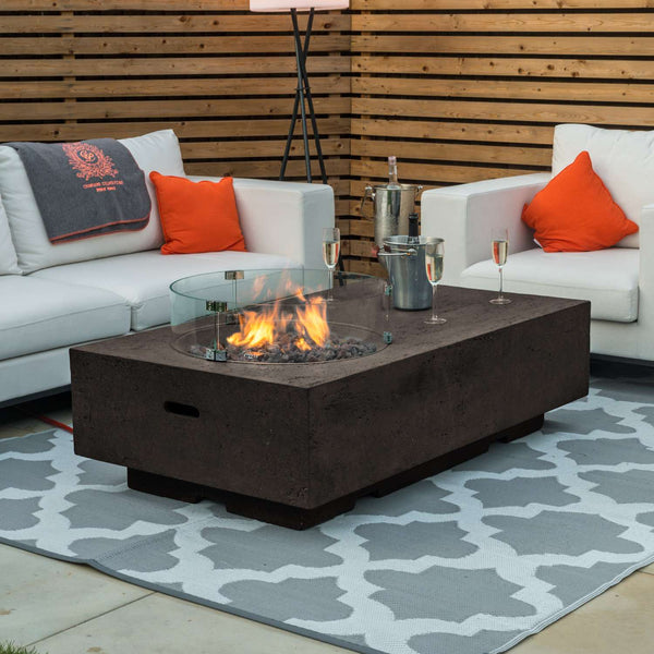 Pre-Order: Cairns Gas Fire Pit - TALOR Garden Furniture