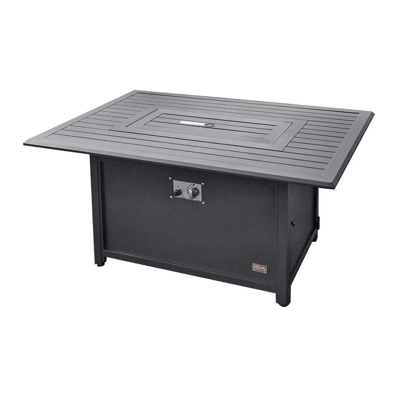 Pre-Order: Mercury Aluminium Rectangular Fire Pit Table - TALOR Garden Furniture