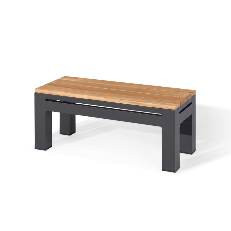 Pre-Order: Oslo Rectangular Teak Top Side Table - TALOR Garden Furniture