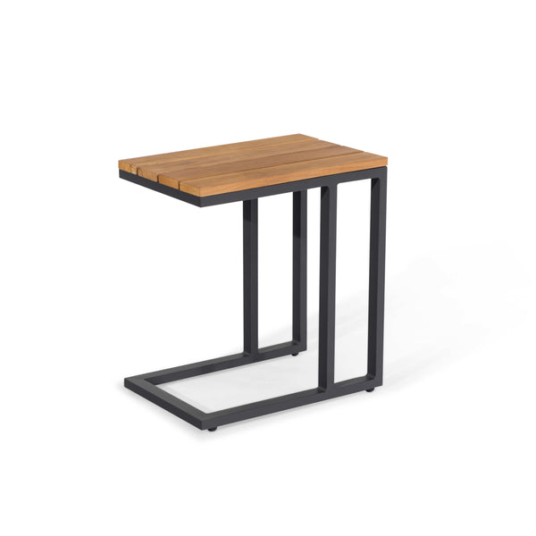 Pre-Order: Oslo U Shaped Teak Top Side Table - TALOR Garden Furniture