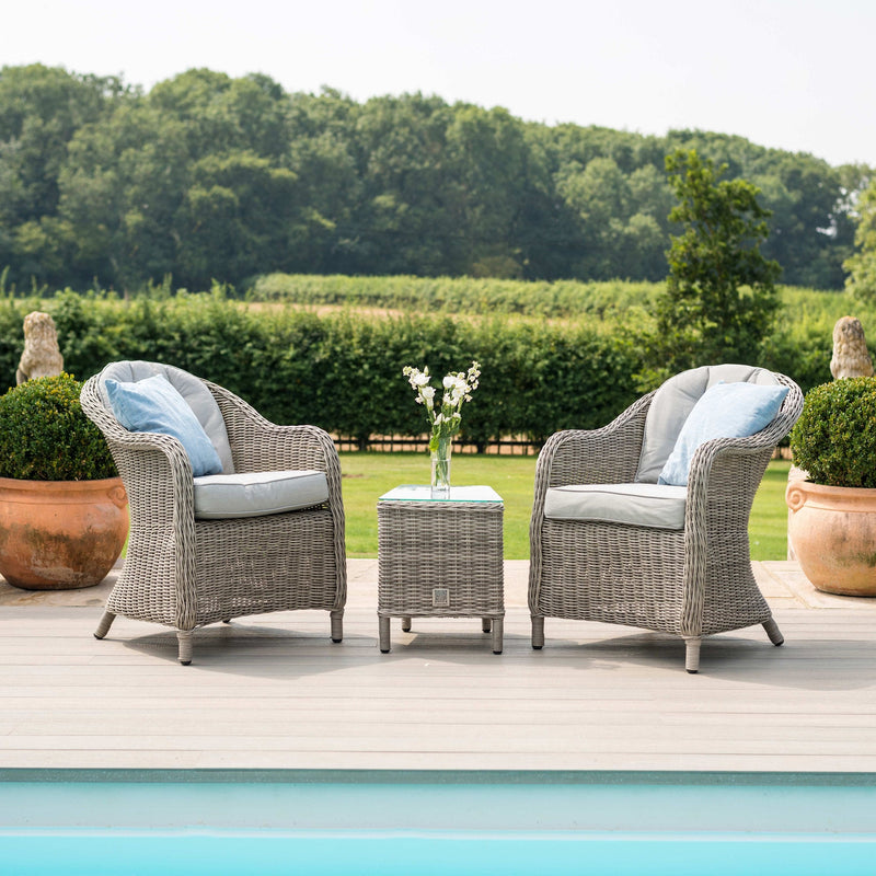 Pre-Order: Oxford 3pc Bistro Set - TALOR Garden Furniture