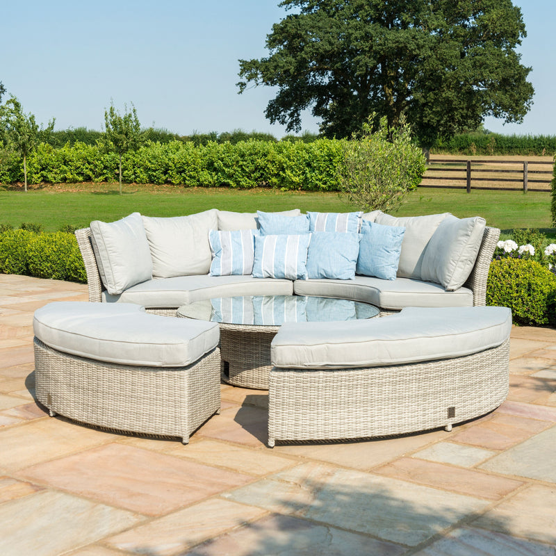 Oxford Lifestyle Suite With Rising Table - TALOR Garden Furniture