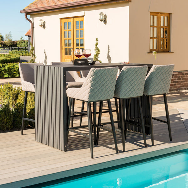 Regal 6 Seat Rectangular Bar Set - TALOR Garden Furniture