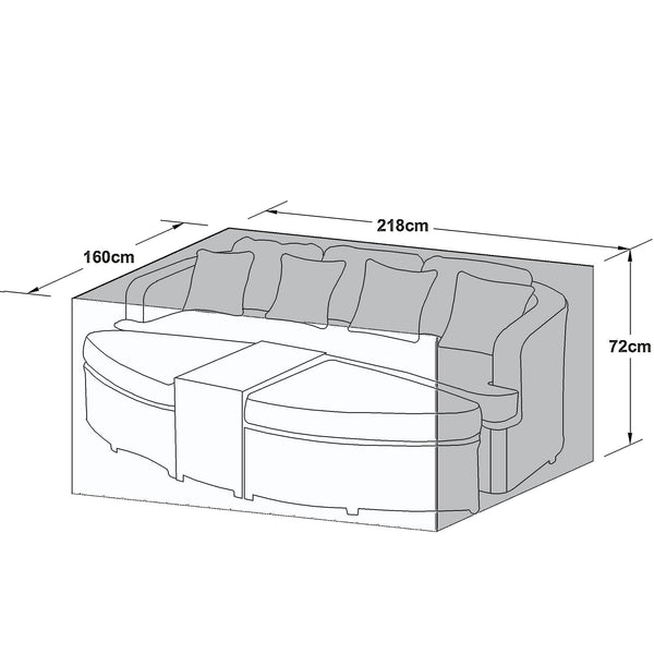 Pre-Order: Outdoor Cover for Toronto Daybed - TALOR Garden Furniture