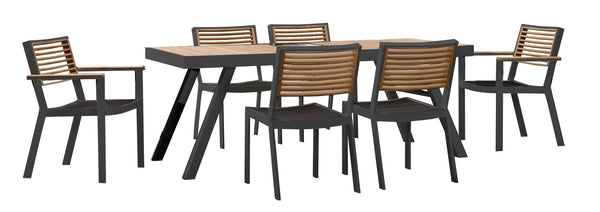 York 6 Seat Dining Set - TALOR Garden Furniture