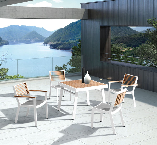 York 4 Seat Dining Set - TALOR Garden Furniture