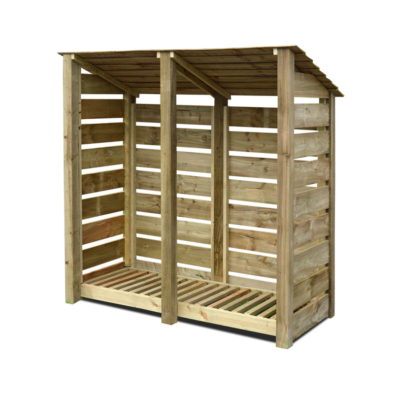 Hambleton 6ft Log Store - TALOR Garden Furniture