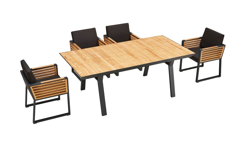 New York 6 Seat Dining Set - TALOR Garden Furniture