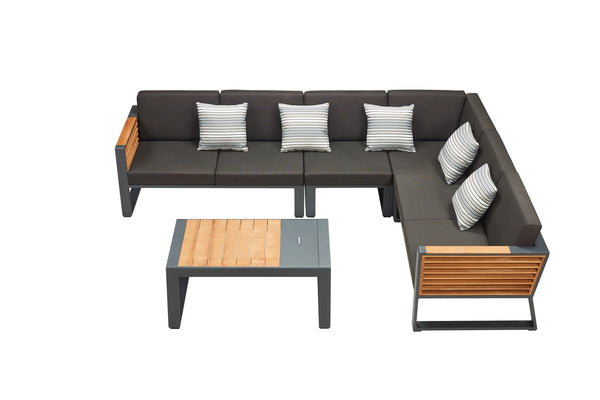 New York Corner Sofa Set - TALOR Garden Furniture