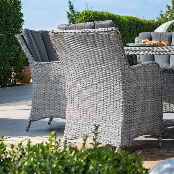 Pre-Order: Ascot 8 Seat Oval Rattan Dining Set - TALOR Garden Furniture