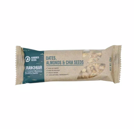 Granolla Bar Dates, Almond &Chia Seeds 1 pcs