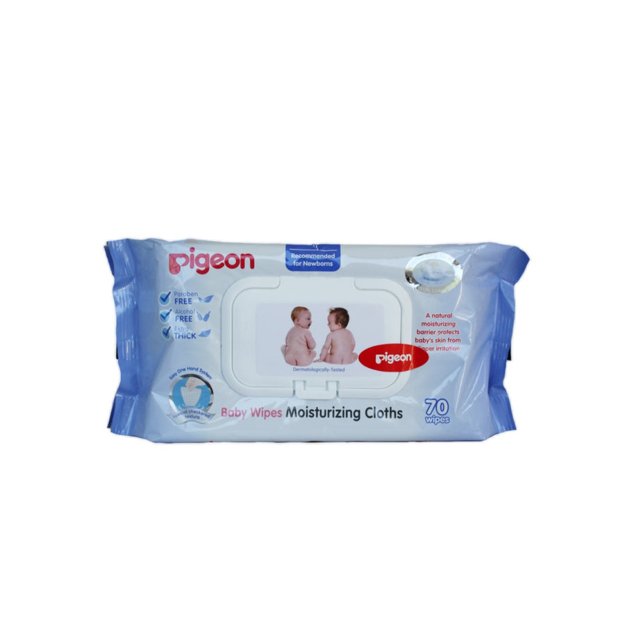 Baby Wipes Moisturizing Cloths Pigeon