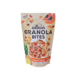 Granola Bites Tropical Fruits East Bali Cashews 125 gr