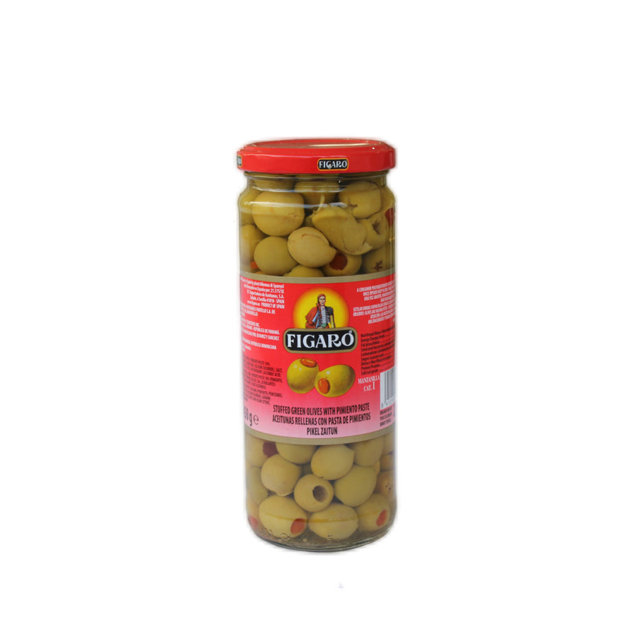 Green Olives with Pimiento 450 gr