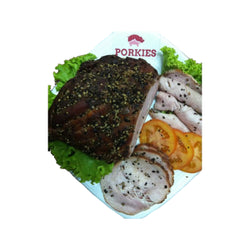 Ham Black Pepper Smoked Sliced Porkies 250 gr