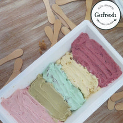 Gelato by Gofresh Size 1 Kg 5 flavors