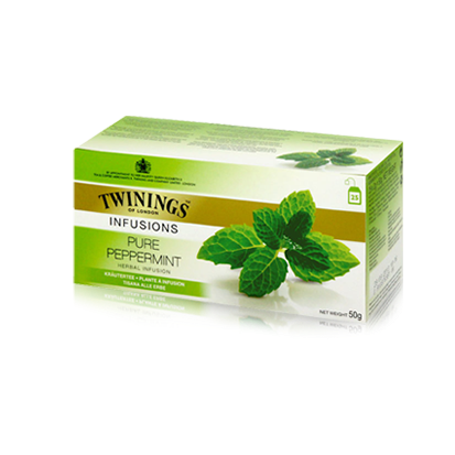 Twinings Pure Peppermint Infusion Tea 25'S