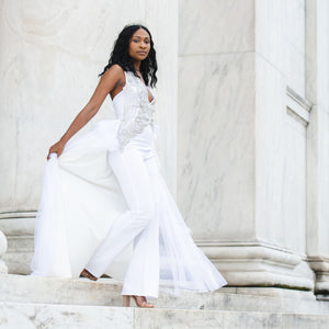 Brittany Christina Collection - Royal Bride Jumpsuit