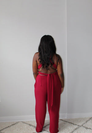 Convertible Jumpsuit w/ Pockets