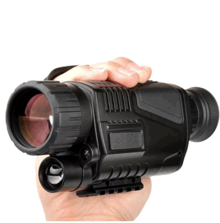 5 x 40 Infrared Night Vision Monocular Night Vision infrared Digital Scope for Hunting Telescope long range with built-in Camera (Black)