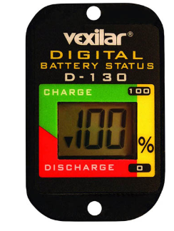 Vexilar Inc. Digital Battery Status Gauge