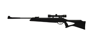 Beeman Longhorn Air Rifle .177 Caliber with Black Synthetic Stock