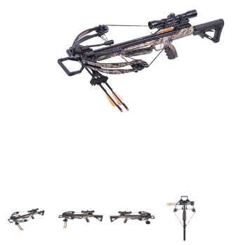 Crosman Mercenary 370 Compound Crossbow Package