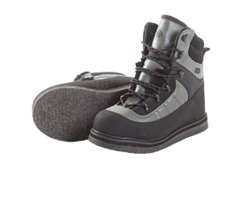 Allen Cases Wading Boot Sweetwater Felt Sole, Size 11, Gray and Black