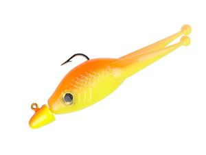 "Strike King Lures Mr. Crappie Scizzor Shad Jig 2"" Length, 1/16 oz, Osage Orange, Package of 3"