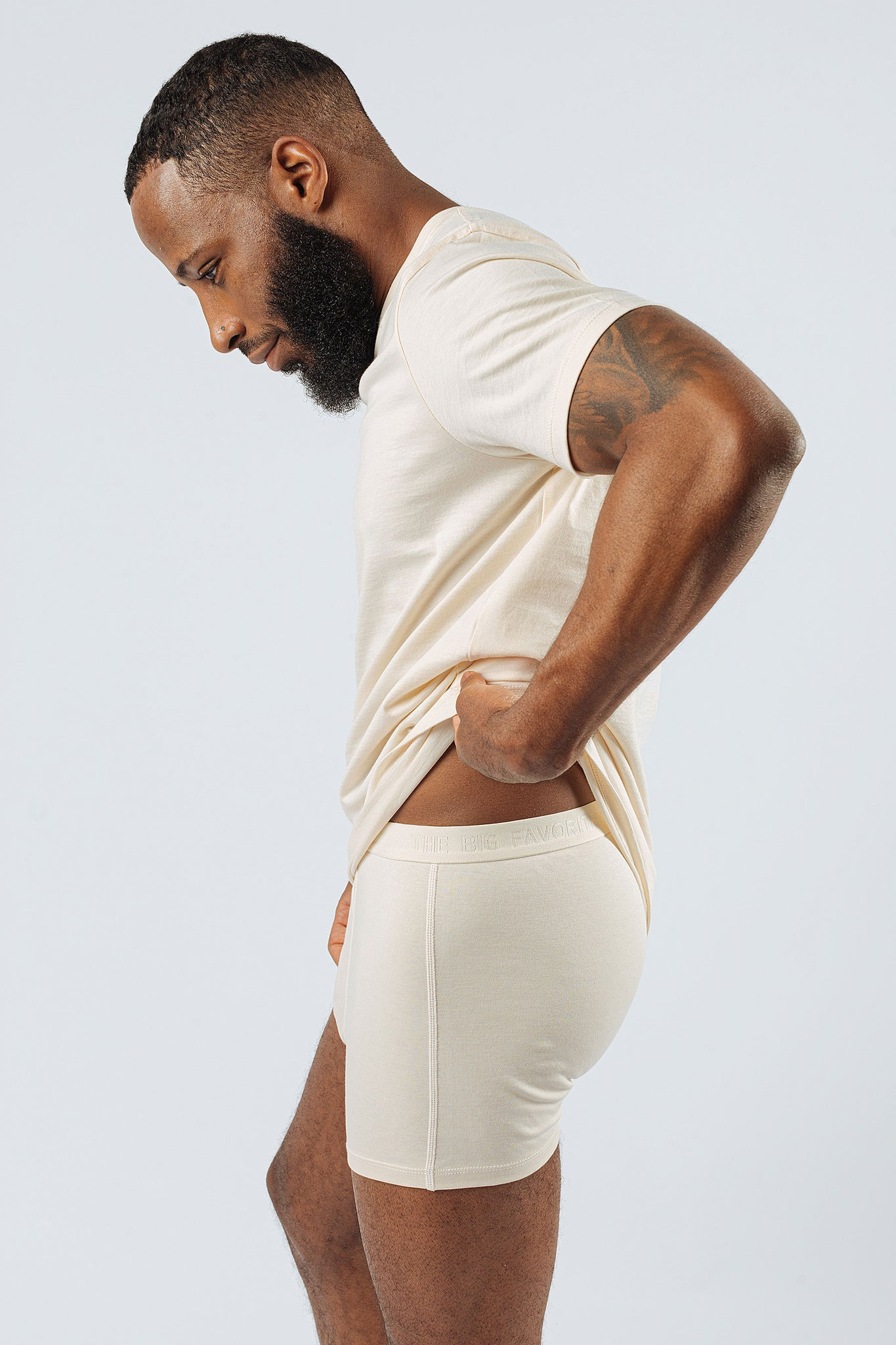 The Undyed Boxer Brief (3-Pack)