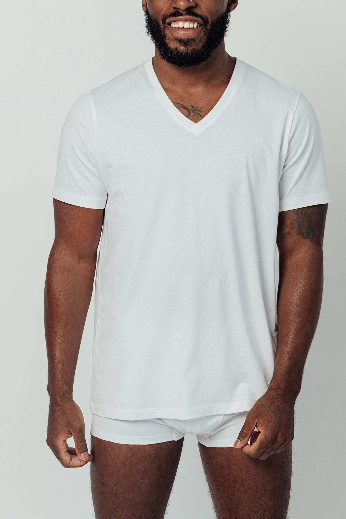 The Relaxed V-Neck