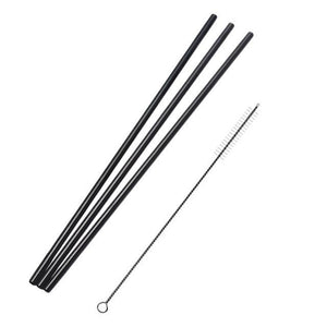 2/4/8Pcs Reusable Drinking Straw High Quality 304 Stainless Steel Metal Straw with Cleaner Brush For Mugs 20/30oz MyHomeArticles