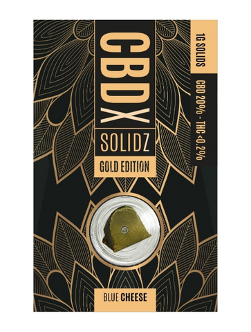 CBD X Gold - Full Spectrum Real Hemp Solids 20% CBD
