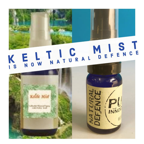 Keltic Mist Spray / Natural Defence 10ml by en-ex
