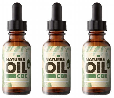 Natures Oil CBD - Oral Oil 20ml (Various Strengths) by en-ex