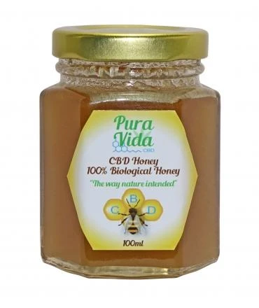 Pura Vida CBD Honey 135g