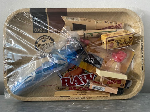 Raw Rolling Tray Gift Set